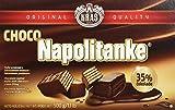Kras Napolitanke Choco Neapolitanerwaffeln mit Schokoladenüberzug 5, 2er Pack (2 x 500 g)