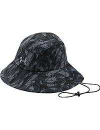 5106c1a8f3cdb Under Armour Men`s Fish Hook ArmourVent Bucket Hat (Black Graphite Tin