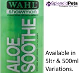 Deep Black Wahl Showman Hundeshampoo / Pferdeplegemittel, Aloe Vera, 500 ml
