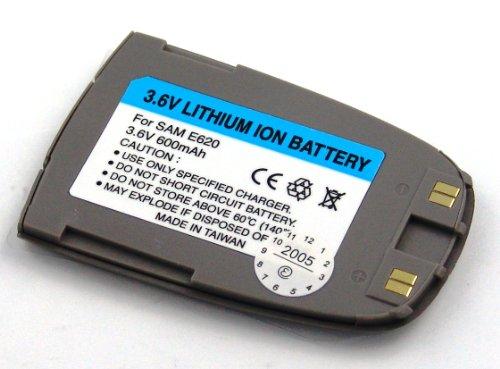 Akku kompatibel mit Samsung SGH-E620, SGH-E680, SGH-S342, SGH-S342i