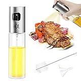 Mture Ölsprüher Flasche, Oil Sprayer Glas Öl Essig Spender Flasche Küche Werkzeug, Öl Sprüher für Kochen, BBQ, Gr