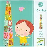 Djeco/Nistkasten und Stapeln Cubes