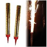 Decor Service Tavolo fuochi d' artificio, Nero Polvere, Oro, 10x 2cm