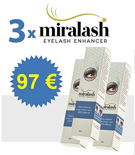 3x Miralash Eyelash Enhancer