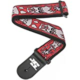 Planet Waves Joe Satriani Guitar Strap - Up in Flames