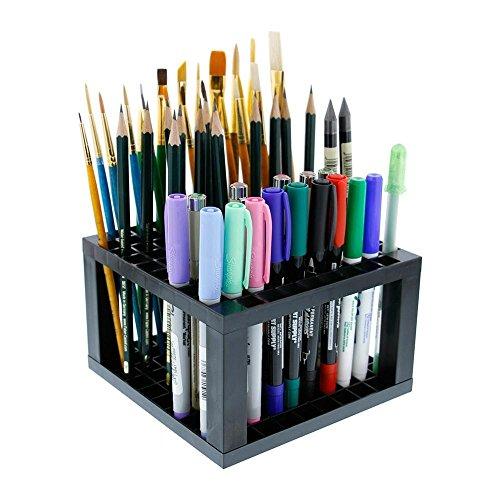 Kunststoff Halter Organizer mit 96 Fächern für Bleistift Pinsel Stift Bin Brush Pen