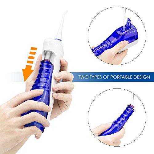 LifeBasis tragbarer Zahnreiniger zahnmedizinische orale Munddusche - 3