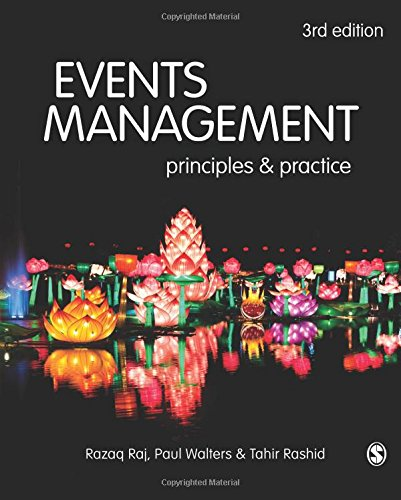 Events Management: Principles and Practice por Razaq Raj