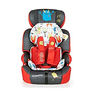 Cosatto Zoomi Group 123 Car Seat, 9-36 kg, Monster Mob   9