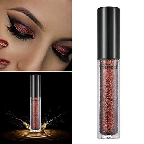 Smoky Shadow Eye (Hunpta 12 Farben Smoky Eye Shadow Makeup Perle Metallic Glitter Lidschatten Pulver (J))