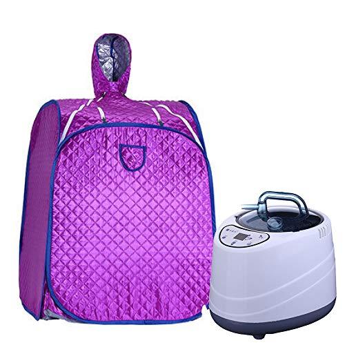 YXLONG Portables Heim-Dampfbad Und Sauna Dampfkabine Personal Spa Trockene Saunaheizung Mehrfarbig Optional,Purple