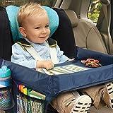 Kinderautositz Tablett Aufbewahrung Kid 's Spielzeug Halter Schreibtisch Buggy Board Wasserdicht Tisch