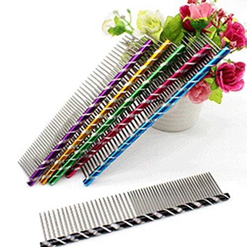 Pet Hair Trimmer Comb Durable Dog Cat's Grooming Hair Comb Anti-Static Comb
