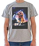Back To The Future 2 Movie Poster Mens T-Shirt XX-Large