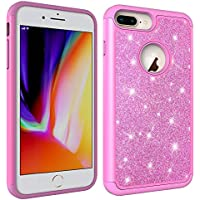 iPhone 6s Plus Hülle,HUDDU iPhone 6 Plus 5.5 Zoll Hülle Glitzer Handyhülle Bling Glitter Hart PC Back Case Sparkles... preisvergleich bei billige-tabletten.eu