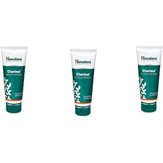 Himalaya Clarina Anti Acne Face Wash Gel Cleanses Skin, Controls Acne Face Wash  Pack of 3