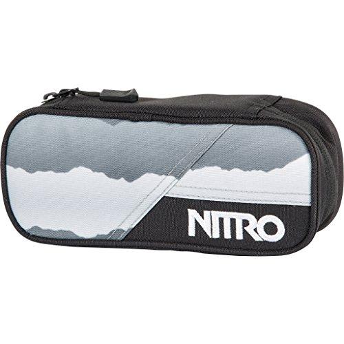 Nitro Snowboards Federmäppchen Pencil Case Mountains Black/White, 20 cm x 8 cm x 6 cm Burton White Collection