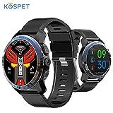 NOVITÀ Kospet Optimus Pro 4G Smartwatch 800mAh Batteria 8MP Fotocamera da 3 GB + 32 GB Dual System Ibrido GPS/GLONASS IP67 Impermeabile Orologio sportivo compatibile con Android e ios