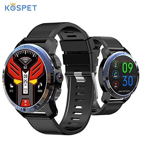 Neue Kospet Optimus Pro 4G Smartwatch 800mAh Batterie 8.0MP Kamera 3GB + 32GB Dual System Hybrid GPS/GLONASS IP67 wasserdichte Sportuhr Kompatibel mit Android und iOS Android 4.0 Gps