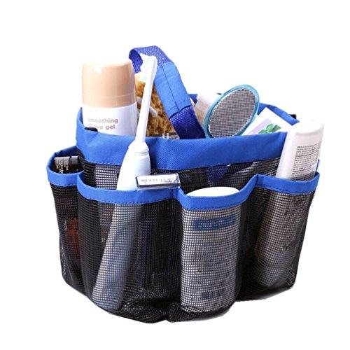 Samtaiker Hanging Toiletry Organizer mit 8 Mesh Lagerung Trocken schnell Taschen Dusch Tote Fächer, Gym, Camping & Reise Tragetasche Tote-geschenk-taschen