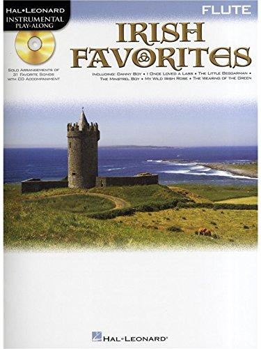 Instrumental Playalong: Irish Favourites - Flute. Partitions, CD pour Flûte Traversière