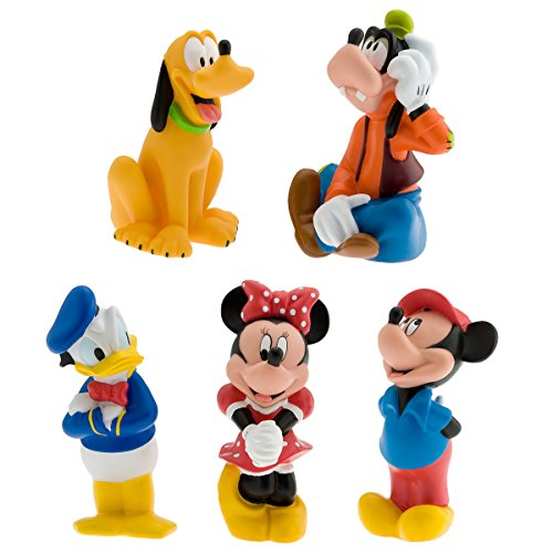 Disney  Mickey Mouse Clubhouse 6 Pc Bath Toys