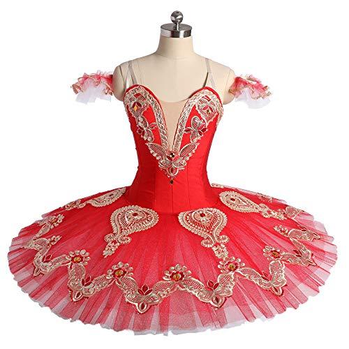 White Swan Lake Ballett Tutu Kostüm Nussknacker Professional -