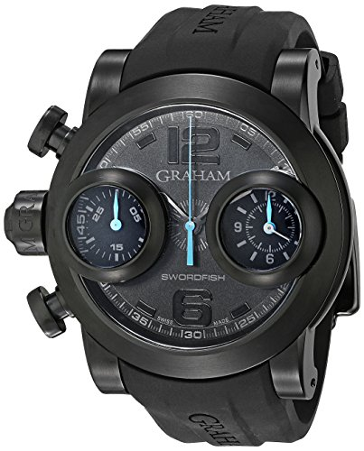 Graham uomo 2SWBB.U36L Swordfish analogico display svizzero orologio...