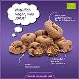 ✅ Bio rohe schokolierte Ingwer Stücke 500g / Ingwer Würfel / Ingwer Pralinen (Ginger) getrocknet und kandiert in Edel Criollo Schokolade aus Peru (Rohschokolade 100%) mit Kokosblütenzucker in Rohkost-Qualität, vegane Schokolade (vegan), LAKTOSEFREI, ohne Industrie Zucker (ungezuckert), ohne Milch, GLUTENFREI, gesund und ideal als Süßigkeiten-Ersatz, für Fitness, zum Abnehmen (Diät) oder als Büro-Snack, Trockenfrüchte schokoliert, ungeschwefelt