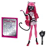 Mattel Monster High BJM63 - New Scare-mester Catty Noir, Puppe