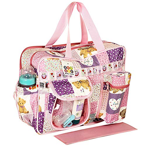 Bey Bee Mama's Bag {Diaper Bag} (Purple, One Size)