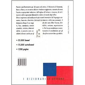 Dizionario di economia banca & borsa. Inglese-ital