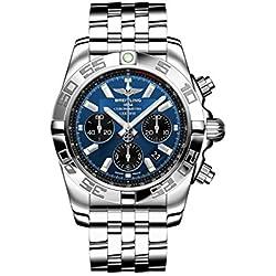 Breitling AB011012/C789/375A - Reloj de pulsera Hombre, Acero inoxidable, color Plata
