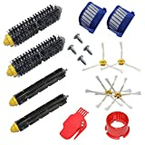 Pack Kit Cepillos Repuestos de Accesorios para Aspiradoras iRobot Roomba Serie 600 529 595 630 650 660 670