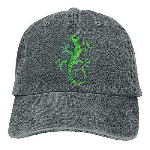 QIOOJ Green Salamander Adjustable Cotton Hat Salamander Hat