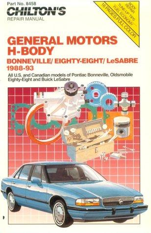 Chilton's GM H-Body - Bonneville - Olds 88 - Lesabre,