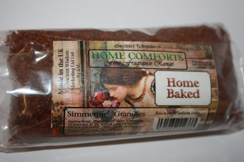 Home Baked (Kitchen) Home Comfort Simmering Granules 200g bag, Ideal for using in oil burners (instead of essential oils), scenting letters, putting in ashtrays to combat the T0bacc0 smell, fragrancing and decorating vases & planters by A & W - Comfort Letter