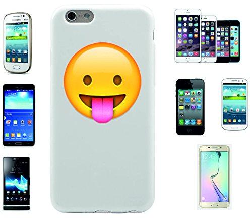 """Smartphone Case Apple IPhone 7 """"Gesicht mit herausgestreckter Zunge"""", der wohl schönste Smartphone Schutz aller Zeiten."""