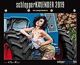schlepperKALENDER 2019, Traktoren & sexy Girls: Werkstattkalender für alle Landmaschinen & Trecker Fans, ein Traum!