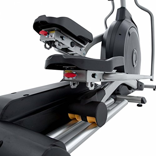 Spirit Elliptical XE 395 – Ellipsentrainer, Cross Trainer mit Hand-Puls-Sensoren, Ergometer, Cardio Fitness - 4