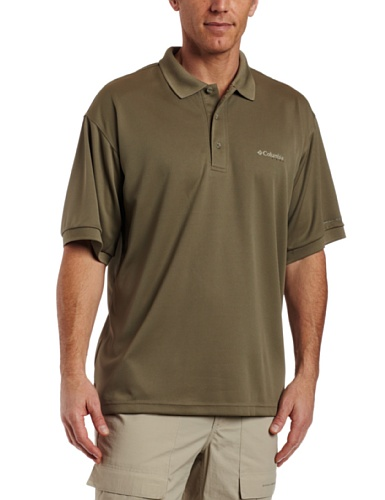 Columbia Herren perfekt Guss Polo Shirt XL graugrün -