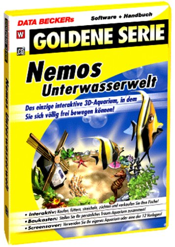 Data Becker Nemos Unterwasserwelt, 1 CD-ROM Das interaktive 3D-Aquarium, in dem Sie sich völlig frei bewegen können. Für Windows 98(SE)/ME/2000/XP