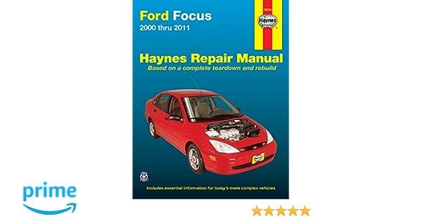 ford focus 2000 2011 haynes repair manual paperback amazon co rh amazon co uk haynes 2000 and 2001 ford focus repair manual pdf haynes repair manual ford focus 2000 thru 2007