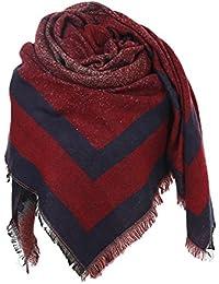 Glamexx24 Bufanda XXL Bufanda de poncho para mujer 8266d7b4bbf
