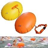 Boa gonfiabile per piscina o mare in PVC spesso, galleggiante da nuoto con anello
