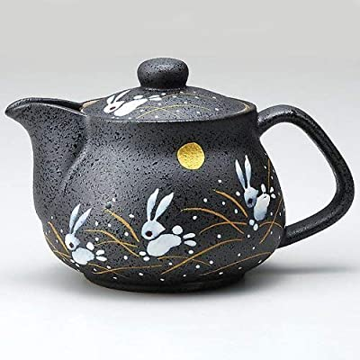 Kutaniyaki Kyusu (Théière Japonaise) Lapin K5–551