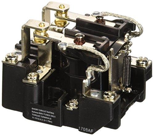 NTE Electronics R04-11A30-120Series R4Allgemeinen Zweck Multicontact AC Open Frame Relay, Heavy Duty, DPDT Kontakt Arrangement, 30Amp, 120VAC - Dpdt Relay-dip
