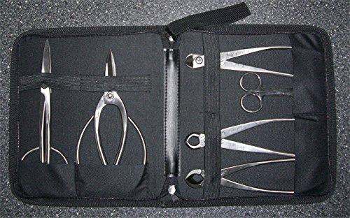 British Bonsai Edelstahl Bonsai 7Stück Tool Set–Set–Kleine Ausstechformen