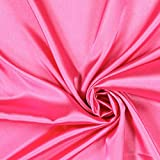 Fabulous Fabrics Stretch Satin - pink - Meterware ab 0,5m -
