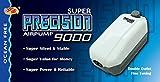 Ocean Free Super Precision AP9000Fine Tune Twin Outlet Aquarium Fish Tank Luftpumpe Luftpumpe